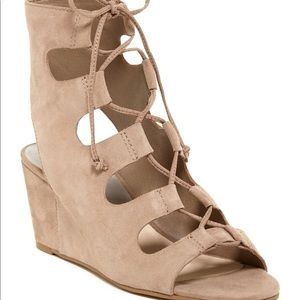 Dolce Vita Lace-up Wedges